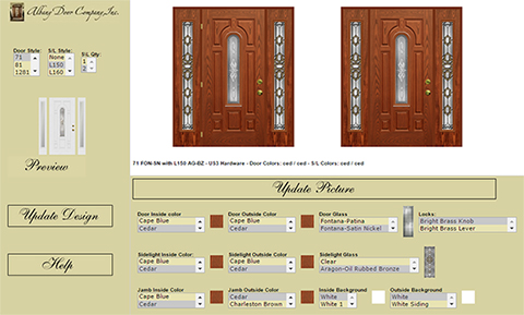 Belleville Fiberglass Entry Doors  sc 1 st  Meister Windows \u0026 Siding & Albany Doors | Doors - Meister Windows \u0026 Siding